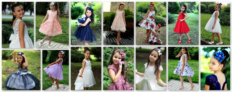 3ab026e096e Бебешки и детски дрехи онлайн-Doniceta .com: ОФИЦИАЛНИ ДЕТСКИ РОКЛИ ...
